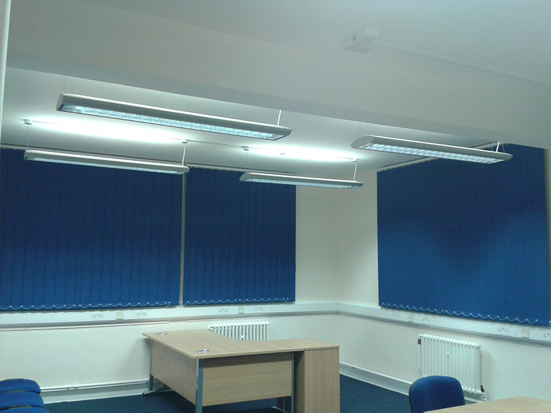 Made To Measure Vertical Blinds In Hertfordshire